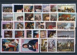 M-730: EXPRESSION FRANCAISE:  Lot**  Série Bicentenaire De La Naissance De Napoléon (32 Valeurs) - Africa (Other)