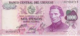 BILLETE DE URUGUAY DE 1000 PESOS DEL AÑO 1974 SIN CIRCULAR-UNCIRCULATED (BANKNOTE) - Uruguay