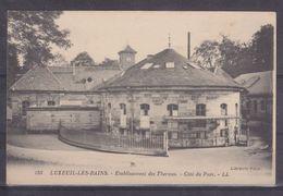 CPA  Luxeuil Les Bains Dpt 70 Etablissement Des Thermes Côté Du Parc Réf 824 - Luxeuil Les Bains