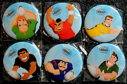 Tournoi Des 6 Nations ? RUGBY Série Complète De 6 Badges Neufs - Rugby