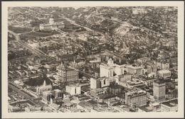 Birds-Eye View Of Portion Of Salt Lake City, Utah, C.1940 - EKC RPPC - Salt Lake City