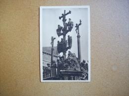 Carte Postale Ancienne De Plougastel-Daoulas: Le Calvaire - Plougastel-Daoulas
