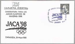 CANDIDATURA De JACA A JUEGOS OLIMPICOS 1998 - Candidature Of Jaca. Zaragoza, Aragon, 1990 - Invierno 1998: Nagano