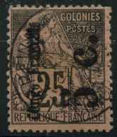 Congo N 4 Aa (o) Surcharge Verticale - French Congo (1891-1960)