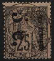Congo N 4a (o) Surcharge Verticale Signé - French Congo (1891-1960)