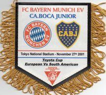 BAYERN MUNICH / BOCA JUNIORS  Finale Championnat Du Monde Des Clubs 2001 - Habillement, Souvenirs & Autres