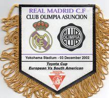 REAL MADRID / CLUB OLIMPIA ASUNCION  Finale Championnat Du Monde Des Clubs 2002 - Habillement, Souvenirs & Autres