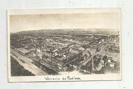 Carte Photo , 88 , VERRERIE DE PORTIEUX , Vosges , Voyagée - France