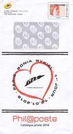 FRANCE Entier Postal De Philaposte Sonia Rykiel Aff. Monde 250 Grs - Pseudo-interi Di Produzione Ufficiale