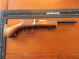 Petit Carabine  De Braconniers  Pour Deco - Decorative Weapons