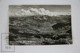 Old Postcard From Switzerland - Blick Vom Rigi - Kulm - Lauerzersee Und Mythen - SZ Schwyz