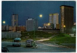 MILANO - GRATTACIELI DEL NUOVO CENTRO DIREZIONALE - AUTOBUS & PULLMAN - 1967 - Autobus & Pullman
