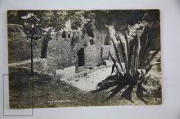 Old Real Photo Postcard Israel - The Garden Tomb - Israel