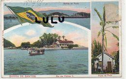 BRÉSIL :  Barra De Santos ; Palmas 1920 - Palmas
