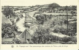 Paysage Rural -- Vue Panoramique Des Environs De Fléron Près De Liège.    (2 Scans) - Fléron