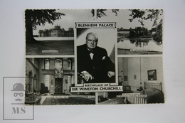 Old Postcard - Birthplace Of Sir Winston Churchill - Blenheim Palace - Londres