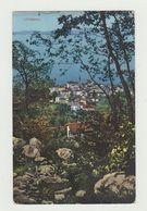 LOVRANA (CROAZIA) - CARTOLINA VIAGGIATA 1919 - POSTA MILITARE- AFFRANCATA 10 CENT. SOVRASTAMPA VENEZIA GIULIA - POSTCARD - Croazia