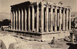 Ancienne Photo Archéologie Liban Ruines De Baalbek - Boats