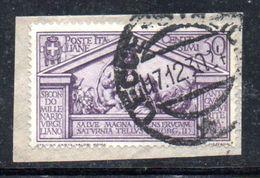 W337 - REGNO 1930 , 30 Cent N. 285  Usato .  Virgilio - Usati