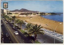 LAS PALMAS DE GRAN CANARIA AVENIDA Y PLAYA DE LAS ALCARAVANERAS 1967 - Gran Canaria