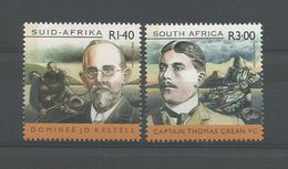 S. Africa 2001 The Anglo-Boer War  Y.T. 1175/1176 ** - South Africa (1961-...)