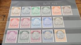 LOT 386747 TIMBRE DE FRANCE NEUF* N°8 A 23 VALEUR 32 EUROS - France