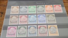 LOT 386748 TIMBRE DE FRANCE NEUF* N°24 A 39 VALEUR 35 EUROS - France