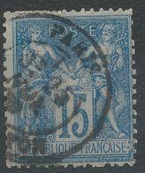 Lot N°40703   N°90, Oblit Cachet à Date De PARIS ( R. Milton) - 1876-1898 Sage (Type II)