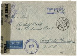 Austria - Airmail To Fairfield - USA 1946 - Paid In Cash - 1945-60 Lettres