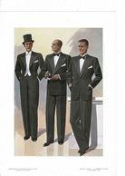 """6 Gravures De MODE  HOMMES """"MODERN STYLE"""" 1935. Format 28/39cm. - Textile & Vestimentaire"""