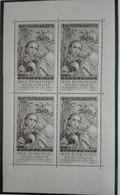 1958  Feuille Miniature (sheet ) Block 4 Svabinsky Neuf Avec Gomme Originale + 1 New - Unused Stamps