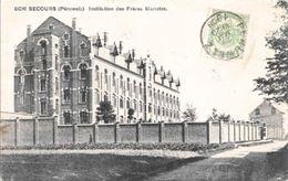 BONSECOURS - Institution Des Frères Maristes - Oblitération De 1908 - Edit. Détez, Grand'Rue, Bonsecours - Péruwelz