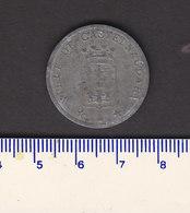 Monnaie Necessité Castelnaudary (11) Aude .. 10c  Union Des Commercants 1917 Zinc Nikele - Monetary / Of Necessity