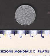 Monnaie Necessité Nice (03) Alpes Maritimes .. 5c Chambre De Commerce 1922 Aluminium - Monetary / Of Necessity