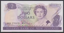 New Zealand 2 Dollars (ND 1981-1985) UNC - Nuova Zelanda