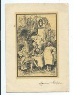 MENU Anniversaire Jacques NOËL 1926-1944... Illustrateur Henri TELLE... 2 Scans - Menus