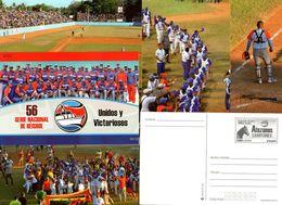 Baseball Pelota Cofanetto 12 Cartoline Preaffrancate 56 Campionato Cuba 2017 - Cartoline