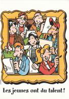 MARGERIN : Carte Postale BD Les JEUNES ONT DU TALENT - Cartes Postales