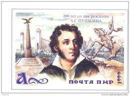 1999. Transnistria, 200y Of Birth A. Pushkin, Russin Poet, 1v, Mint/** - Moldova