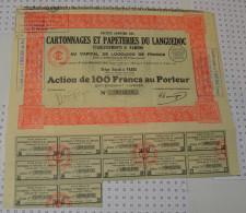 Cartonnages Et Papetries Du Languedoc - Electricité & Gaz