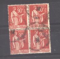 06770  -  France  :  Yv   285  (o)  Bloc De 4 - 1932-39 Frieden