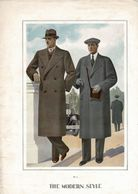 """3 Gravures De MODE  HOMMES """"THE MODERN STYLE"""" 1935. Grand Format 32/44cm. - Textile & Vestimentaire"""