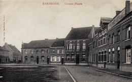 BAESRODE ( Baasrode ) - Zicht Op De Groote Plaats - Rode Tekst - Dendermonde