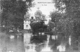 Cpa MONTIGNY-SUR-LOING : Le Gué 1907 - Autres Communes