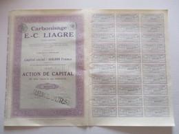 Carbonisage E C Liagre - Textile