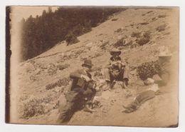 26400 VOYAGE Aux PYRENEES France En 1900-  Photo Légendée Gripp Cascade Garet - Yvonne Mousseux - Lieux