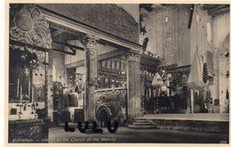 ASIE : Palestine Bethlehem Interior Of The Church Of The Nativity ( édit. The Oriental Commercial Bureau Port Said ) - Palestine