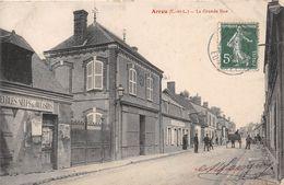 "¤¤    -   ARROU  -  La Grande Rue  -  Maison "" MARTIN - GAULTIER ""  -  Café De Paris   -  ¤¤ - France"