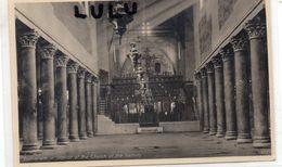 ASIE : Palestine Bethlehem Intérieur De L église De La Nativité ( édit. The Oriental Commercial Bureau Port Said ) - Palestine
