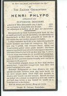 B.P.   WESTROZEBEKE  PHYPO HENRI 1/53 - 1931 ZONNEBEKE - Religion & Esotericism